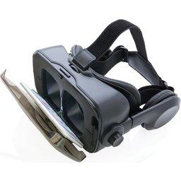VR bril met geïntegreerde hoofdtelefoon