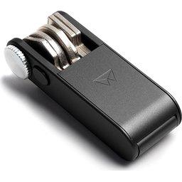 Walter Keyboss sleutelhanger Gunmetal