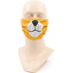 Wasbaar stoffen mondmasker met bedrukking naar keuze 3