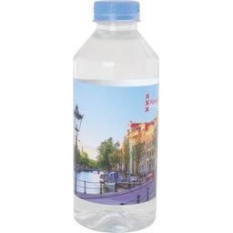 Waterfles 330 ml met platte dop