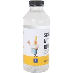 Waterfles 330 ml met platte dop