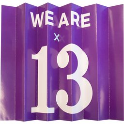 We are 13
