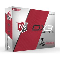 Wilson DX3 Soft Spin golfbal