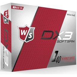 Wilson DX3 Soft Spin golfbal bedrukken