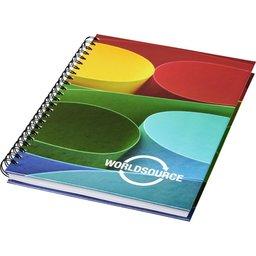 Wire-o A4 notitieboek met harde cover bedrukken