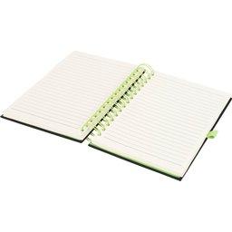 Wiro notitieboek -lime open