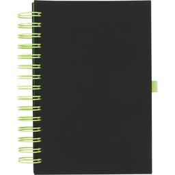 Wiro notitieboek -lime voorzijde