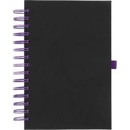 Wiro notitieboek -paars voorzijde