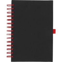 Wiro notitieboek -rood voorzijde