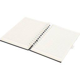 Wiro notitieboek -wit open