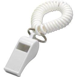 Wit Fluitje polsband