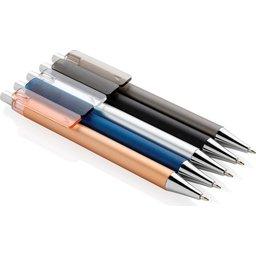 X8 metallic pen -kleuren