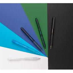 X9 frosted pen met siliconen grip -sfeerbeeld