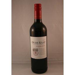 wijnkoelmanchet met fles oude kaap