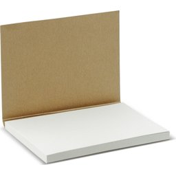 Zelfklevende Memoblaadjes Softcover FSC-recht open